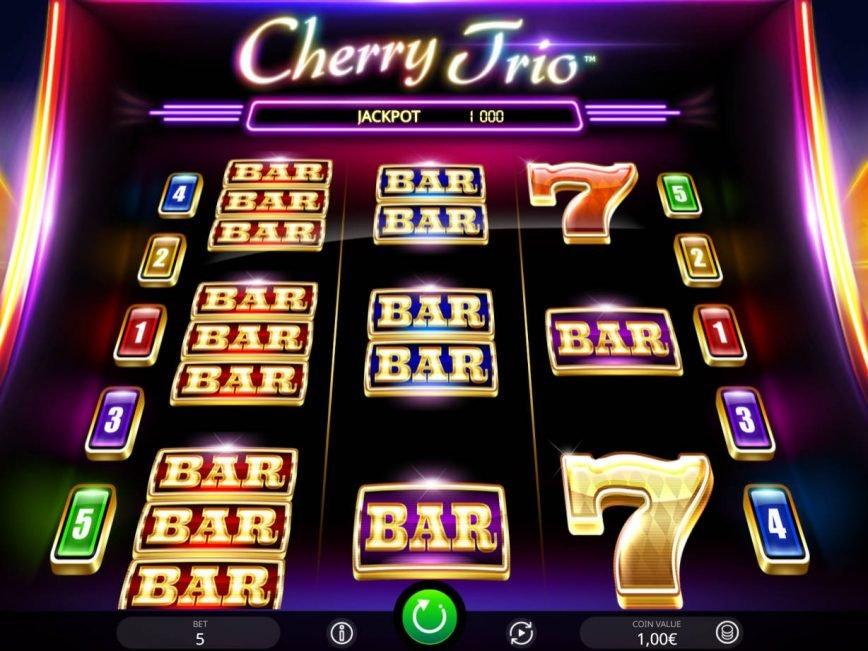 Plays free online slot Cherry Trio
