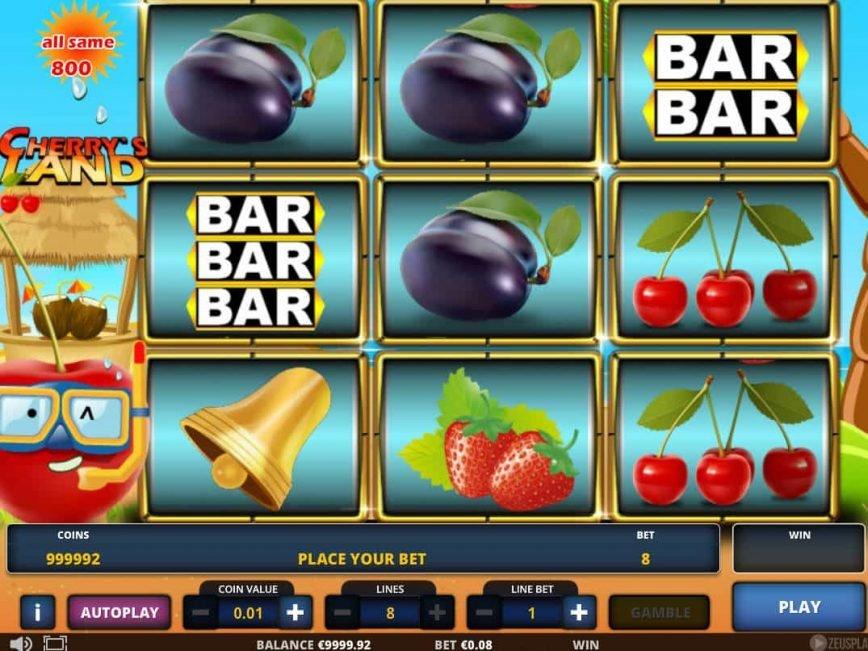 No deposit game Cherry's Land