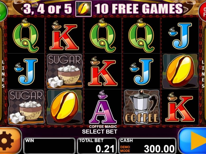 Play slot machine for fun Coffee Magic