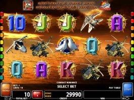 Spin casino slot game Combat Romance