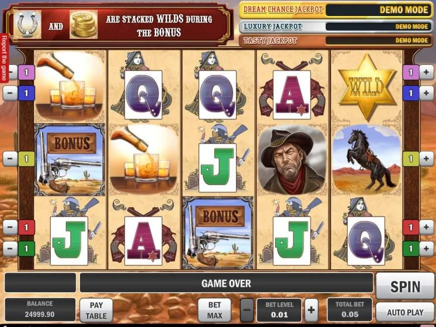 Cowboy Treasure slot for fun online