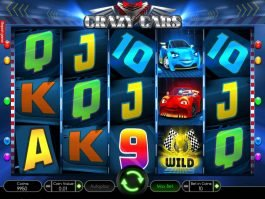 Slot for fun Crazy Cars online