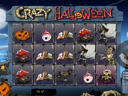 Crazy Halloween casino free game by MrSlotty