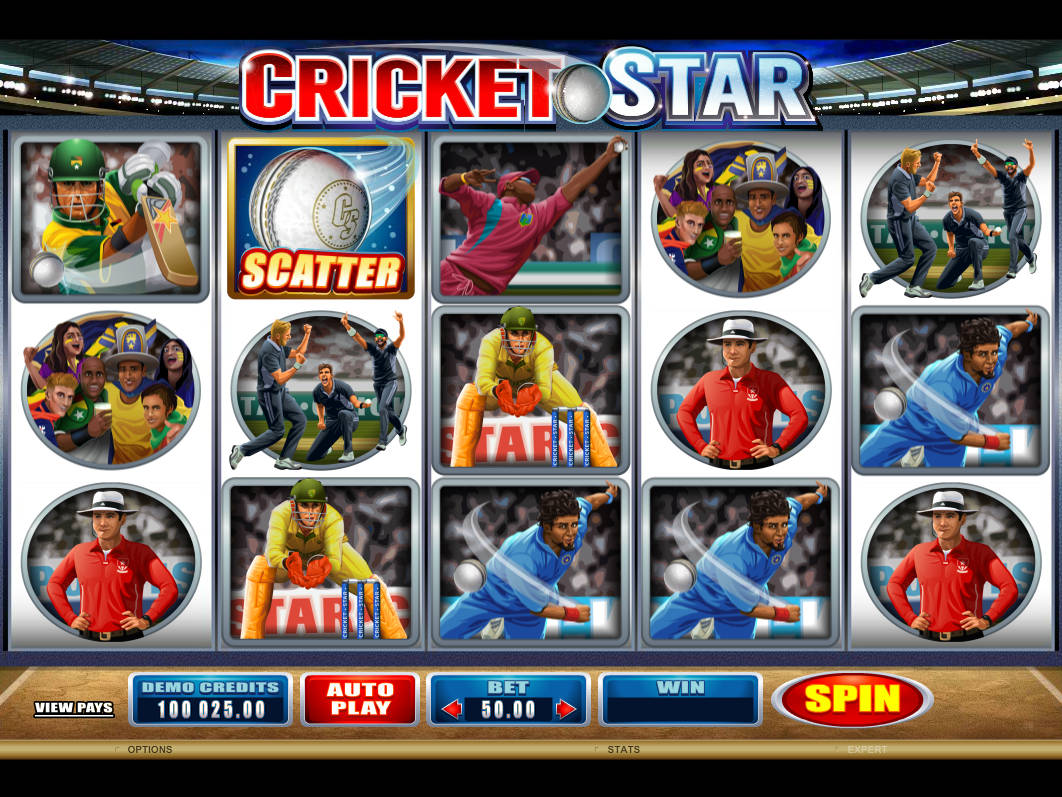 cricket star spielen