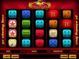 A picture of the slot machine Dice Party
