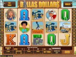 Dallas Dollars online slot machine with no deposit