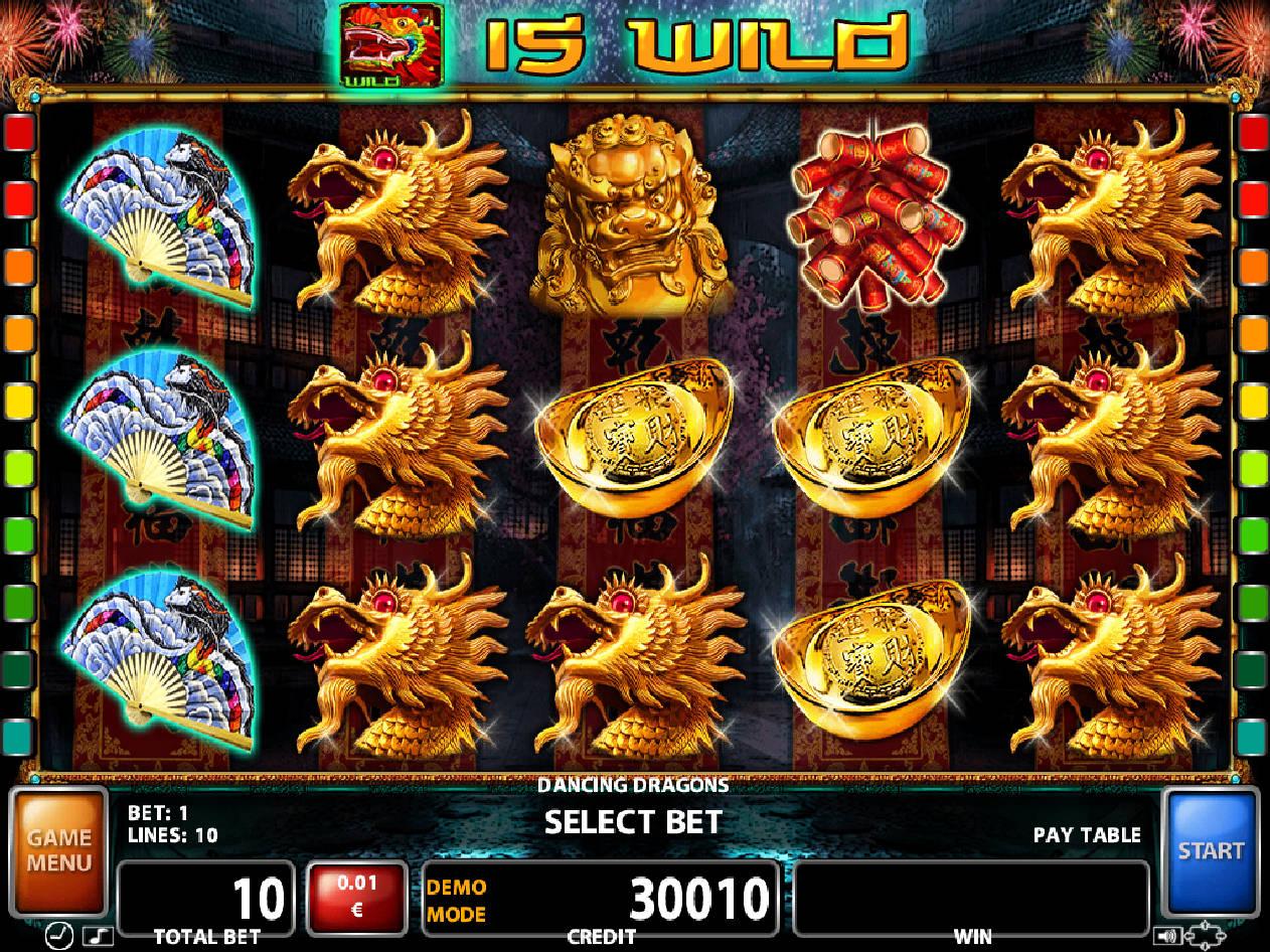 Dancing Dragon Slot Machine