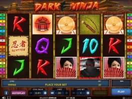 Play free online slot for fun Dark Ninja