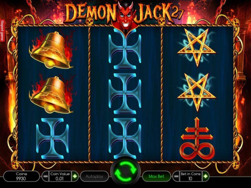 Spin casino slot game Demon Jack 27