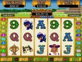 Play free slot machine Derby Dollars
