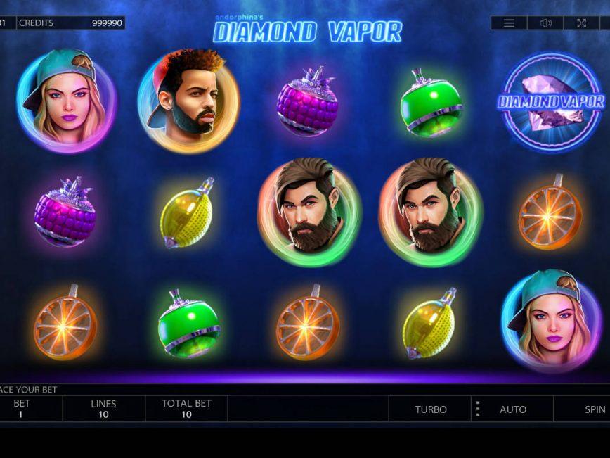 No download slot game Diamond Vapor