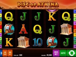 No download slot game Disc of Athena online
