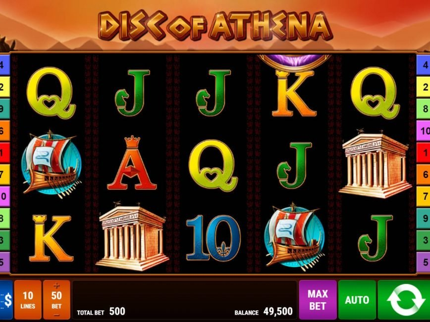 Spiele Disc Of Athena - Video Slots Online