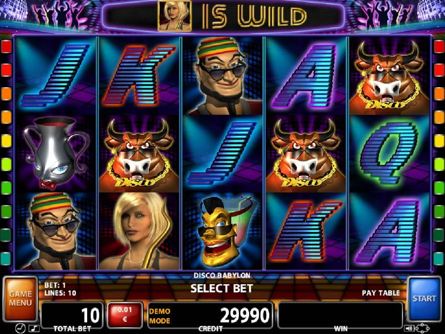 Casino slot game Disco Babylon