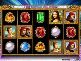 Online free slot game Double Da Vinci Diamonds