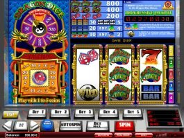 Play online slot game Dragon Dice