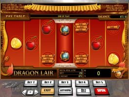 Free online slot game Dragon Lair no deposit