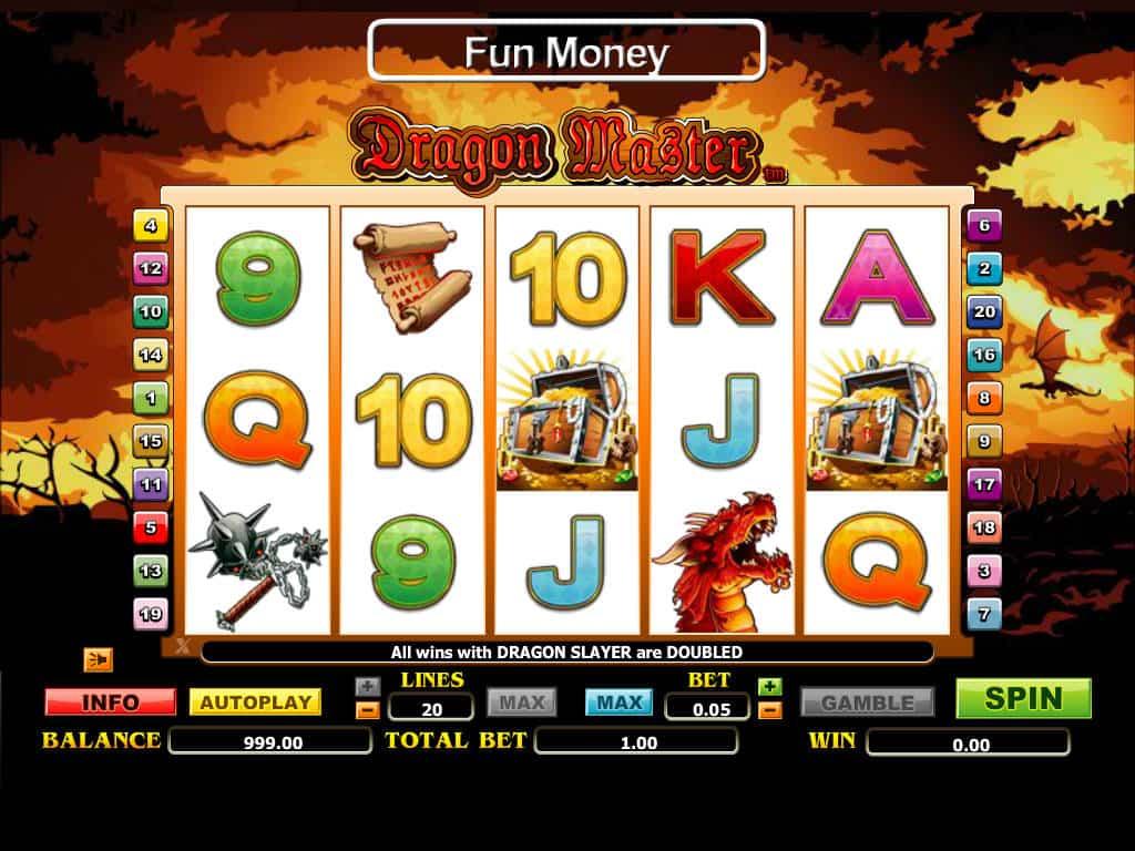 Dragon Master ™ Slot Machine - Play Free Online Game ...