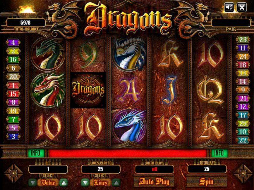 Dragons ™ Slot Machine - Play Free Online Game - Slotu.com