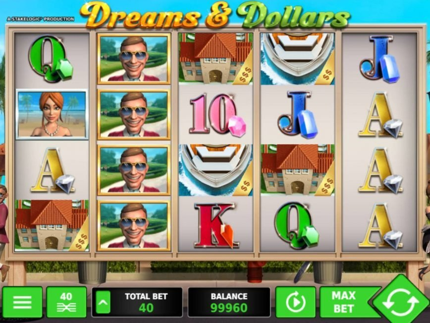 Online free game Dreams and Dollars no registration