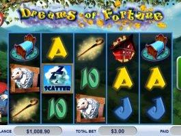 Casino slot machine Dreams of Fortune