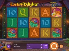 A picture of the casino game Eastern Delights