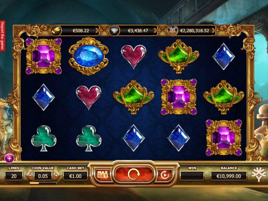 Casino slot game Empire Fortune