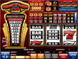 Empire of Power 7s free slot machine