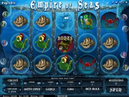 Empire of Seas casino slot machine no deposit
