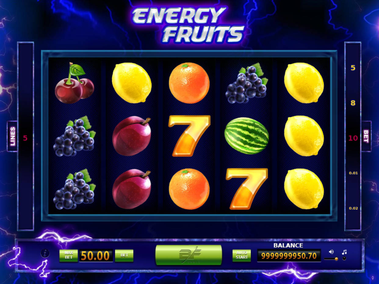 Energy Fruits Slot Machine