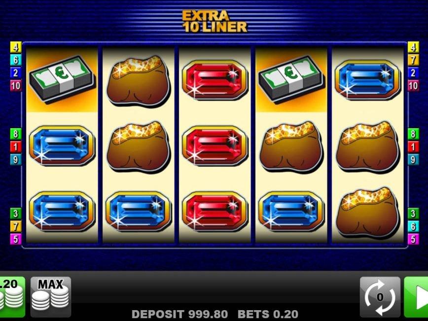 No deposit game Extra 10 Liner