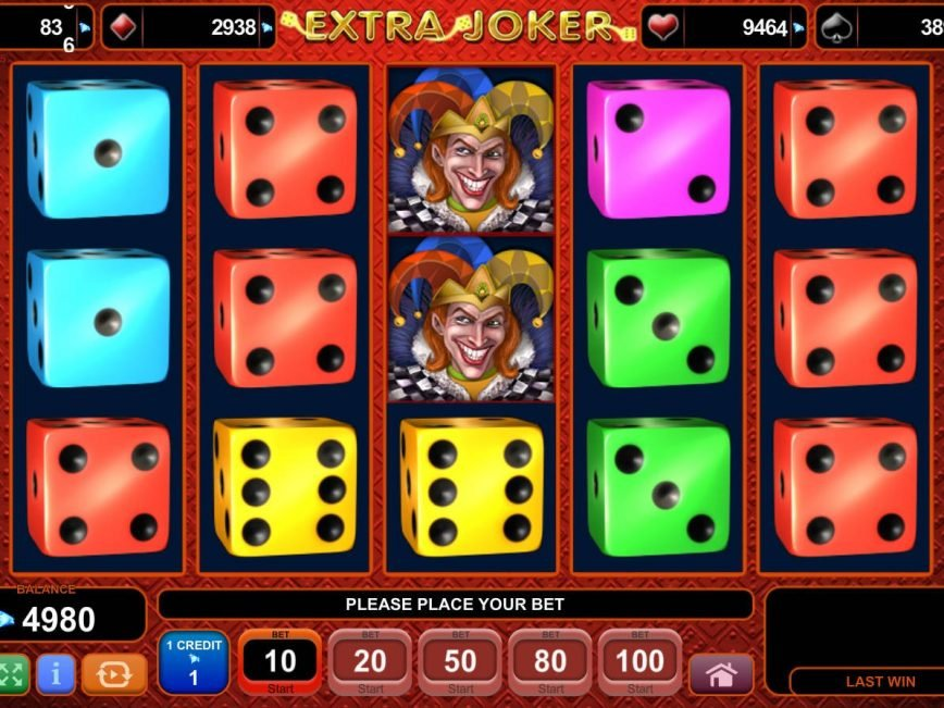 Slot machine for fun Extra Joker