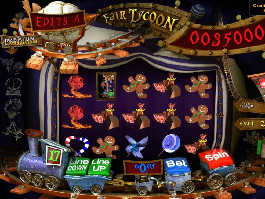 No deposit slot machine Fair Tycoon online