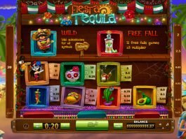 Online free game for fun Fiesta Tequila