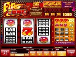 Casino online free game Fire Zone