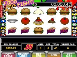 A image of Food Fight slot machine