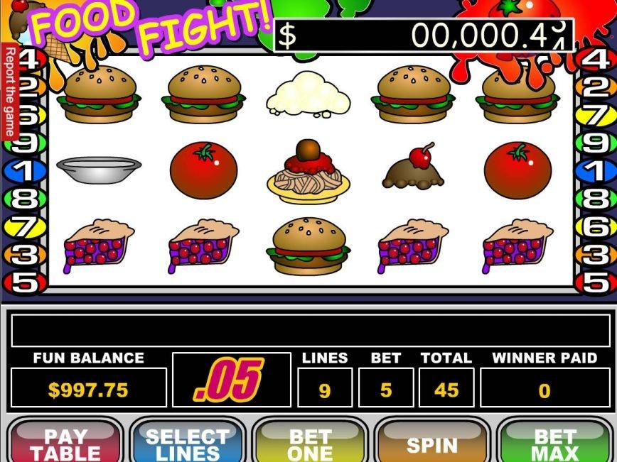 Food Slot Machine
