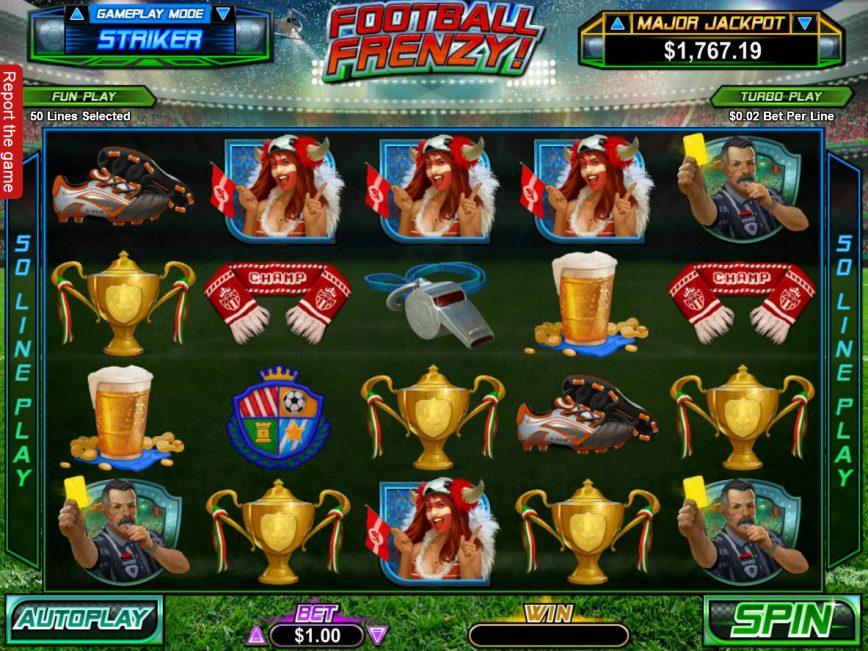 Slot game for fun Football Frenzy