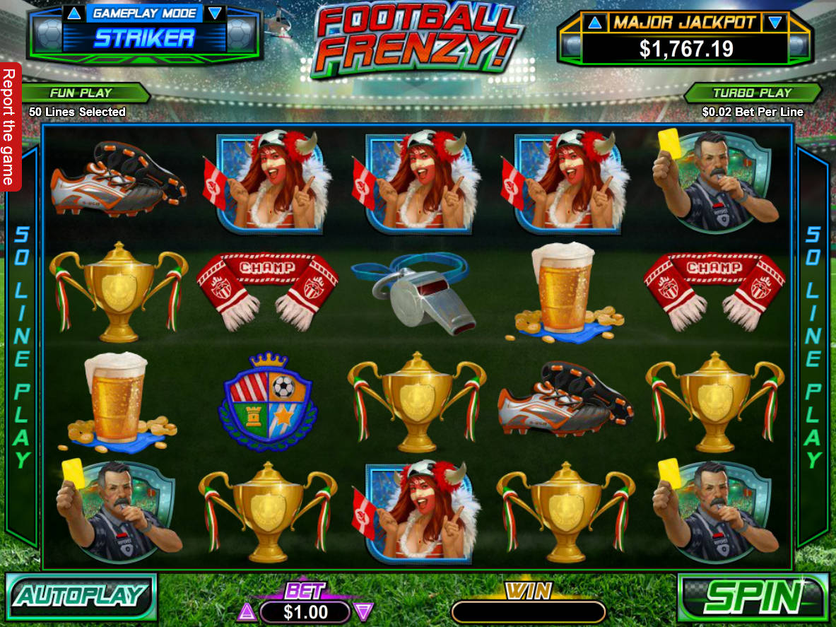 Football Frenzy Online Game