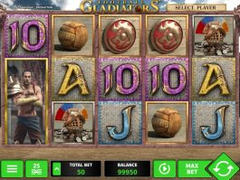 Football Gladiators free slot machine
