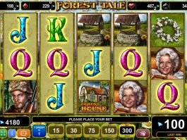 Forest Tale slot machine by EGT
