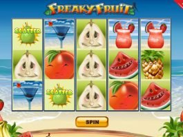 No registration game Freaky Fruit