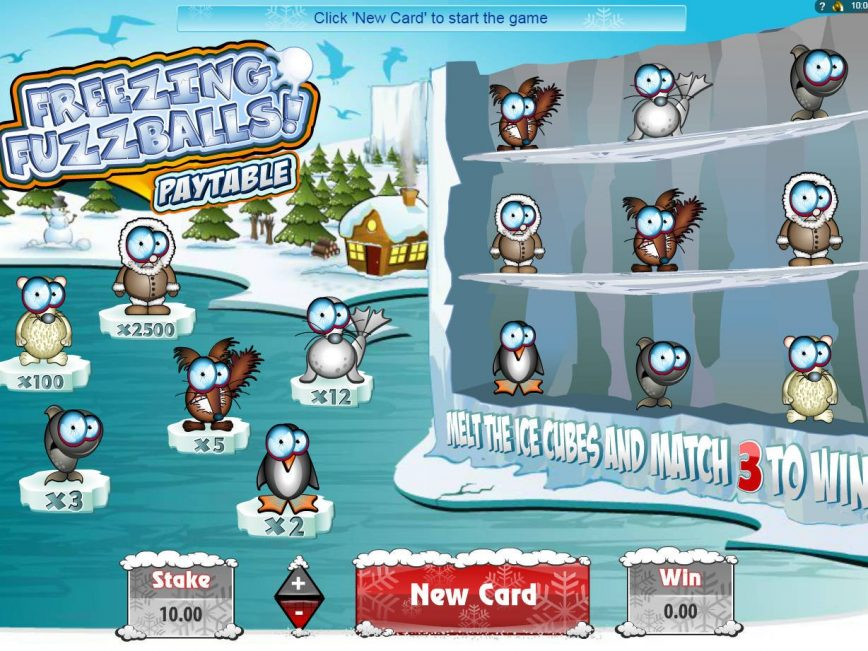 Freezing Fuzzballs online slot game