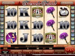 A picture of the slot game French Maid