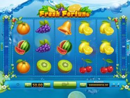A picture of the slot game for fun Fresh Fortune