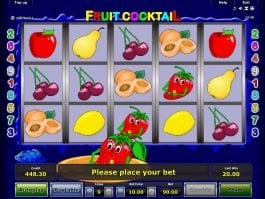 Fruit Cocktail slot machine online