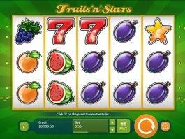 Fruits´n´Stars online free slot game