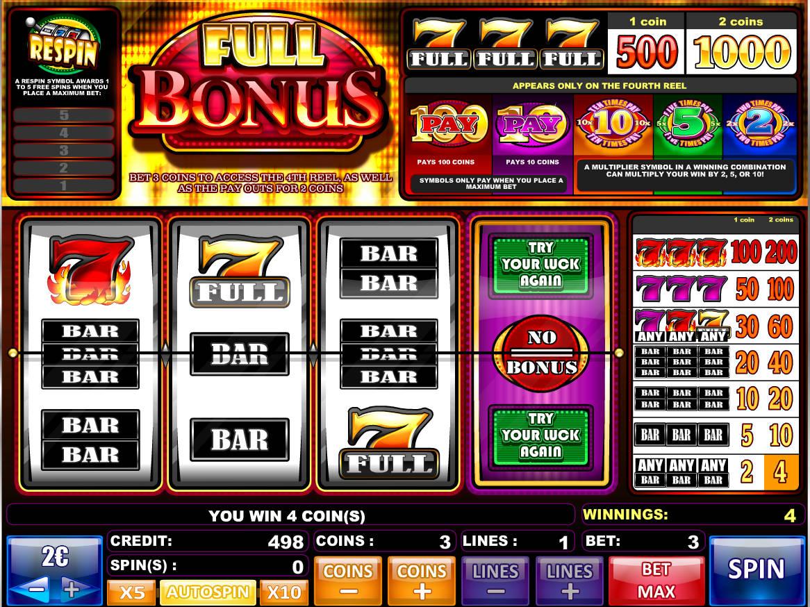 Slot Machine Online With Bonus