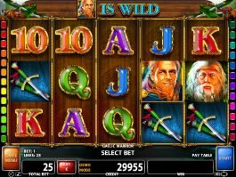 Online free slot game Gaelic Warrior