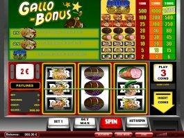 Gallo Bonus free online slot machine